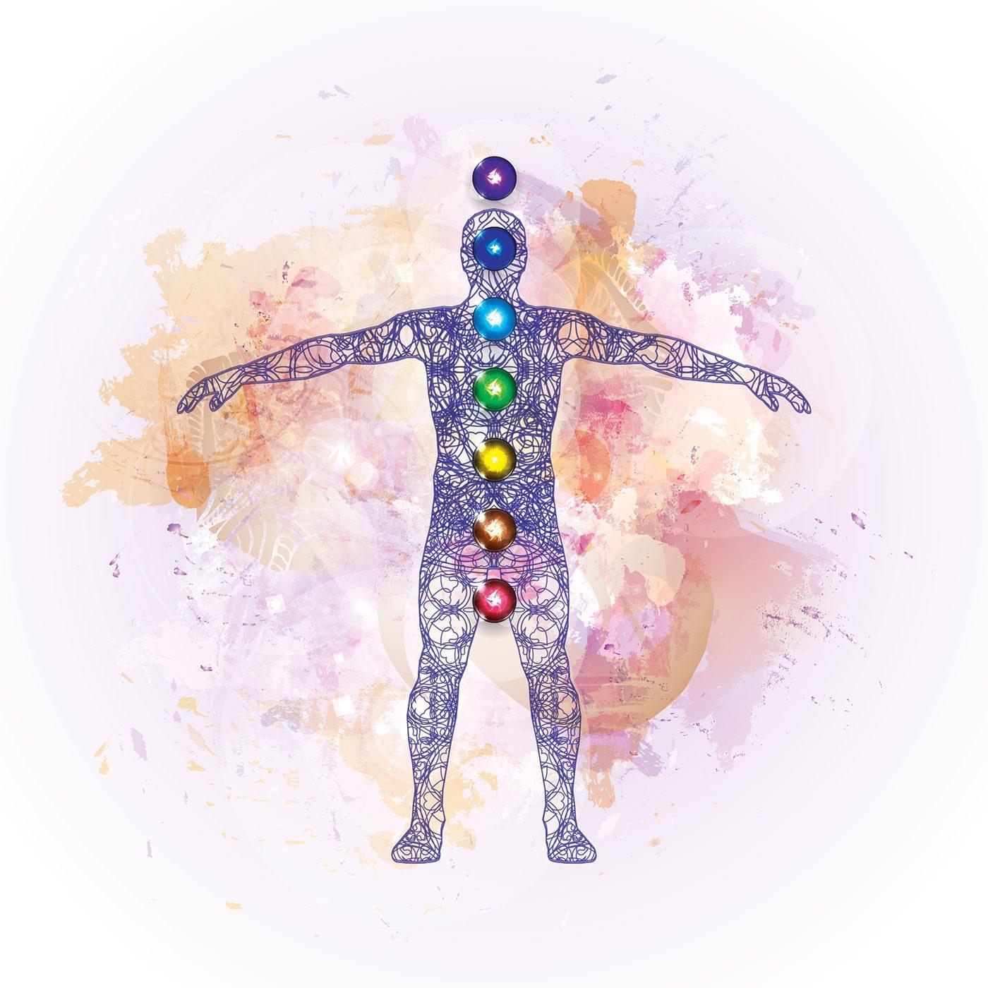 chakra healing person